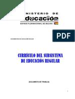 Curriculo Educacion Regular