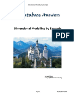 Dimensional Modelling by Example