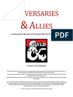 5e Adversaries & Allies