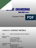 Company Profile 2013 Levene Rev1