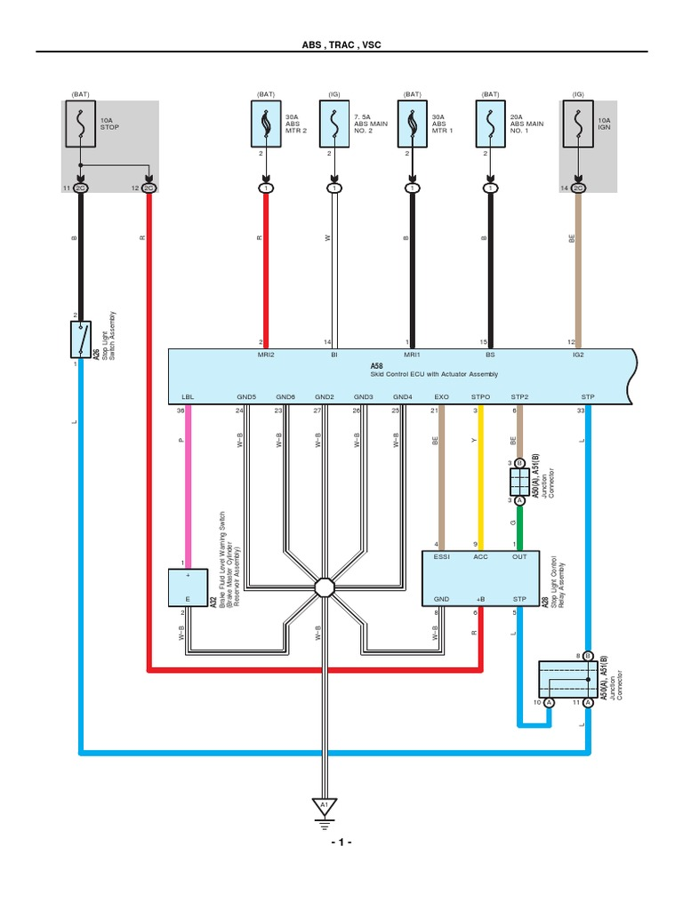 Cool Toyota Prius Wiring Diagram Gallery Electrical and Wiring