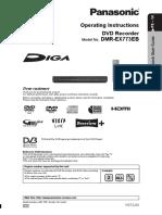 Panasonic DMR EX773