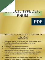 04 Struct Unions Typedef
