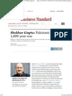 Shekhar Gupta_ Pakistan's Real 1,000-Year War _ Business Standard Column