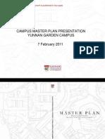 Nanyang Technological University - Master Plan