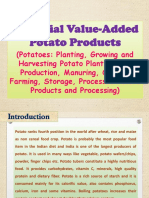 Potential Value-Added Potato Products (Potatoes