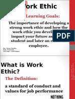 Work Ethics Again