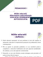 2. Noile Educatii - Educatia Permanenta - Autoeducatia