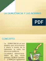 La Democracia y Las Normas