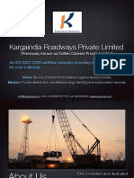 Kargaindia Roadways Private Limited Company Profile