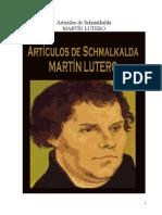 Artículos de Schmalkalda