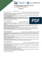 Programme 8th PKSG Annual PhD Conference Greenwich-2016 (1)