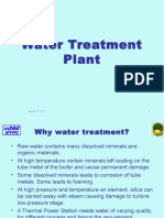 WaterTreatment in power plant