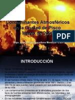 Contaminantes Atmosfericos en la Ciudad de Pisco Marzo 2008