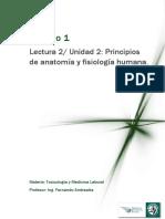 Lectura 2 - Unidad 2 _ Principios de Anatomía y Fisiología Humana