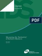 Inclusive Business Model