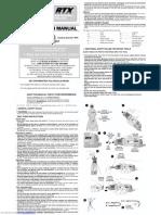 Rtx Instruction Manual