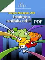 Eleicoes Municipais 2016 Orientacao Candidatos Eleitores