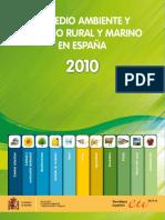 El Medio Ambiente y El Medio Rural y Marino en España 2010