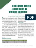 Estudio de campo acerca de la ejecusion de anclajes quimicos.pdf