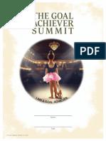 Goal Achiever Summit Workbook