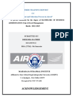 AIRCEL HUMAN RESOURCE REPORT
