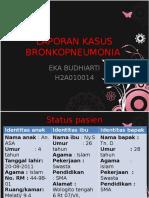 Laporan Kasus Bronkopneumonia Anak Eka