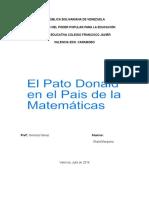 País Del Pato Donadl en Matemática