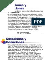 Curso de Sucesiones y Donaciones