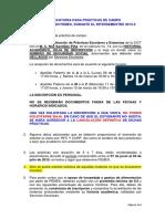 Convocatoria Prácticas PEMEX Semestre 2015-2