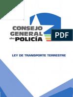 Ley Transito Terreste
