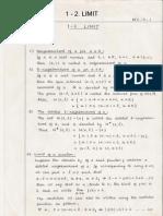 Mathematics 2 - Theory Part 1