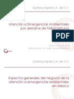 q. Apollo Atencion a Emergencias Ambientales Por Derrame de Hidrocarburo