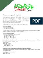Access, Ejemplos de Consultas SQL