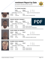 Peoria County Jail Booking Sheet for Aug. 21, 2016