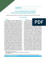 resistencia de antibacterianos