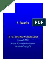 8-Recursion