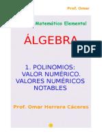 01 Polinomios Valor Numérico a1
