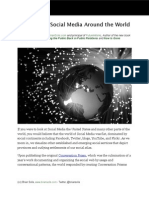 The State of Social Media Around the World 2010