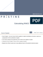 Calculating WACC