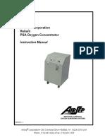 Air Sep Oxy Generator