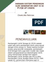 Dokumen.tips Pemeliharaan Sistem Pendingin Air Cooler Generator Unit IV