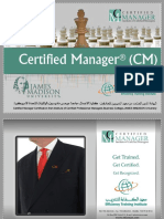 CM-Certified Manager
