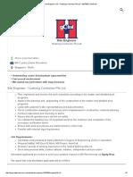 Site Engineer Job - Huationg Contractor Pte Ltd - 5337669 _ JobStreet