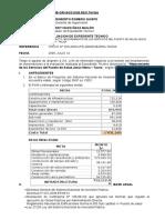 Informe Evalucion -Opinion Favorable de Expedientess Dr