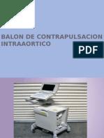 Balon de Contrapulsacion Intraaortico