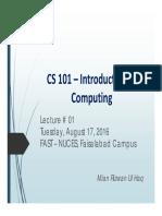 NU-Lec 01 Introduction