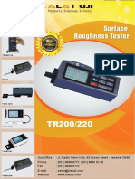 Surface Roughness Tester TR200, 220