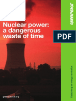 1nuclear Power a Dangerous Was
