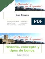 Presentación de los Bonos